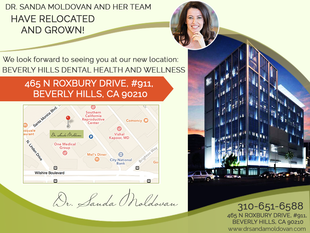 Periodontist and Nutritionist Beverly Hills - Relocation Banner